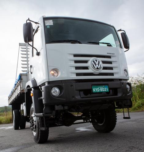 VW Constellation 4×4 chega ao mercado para enfrentar qualquer desafio