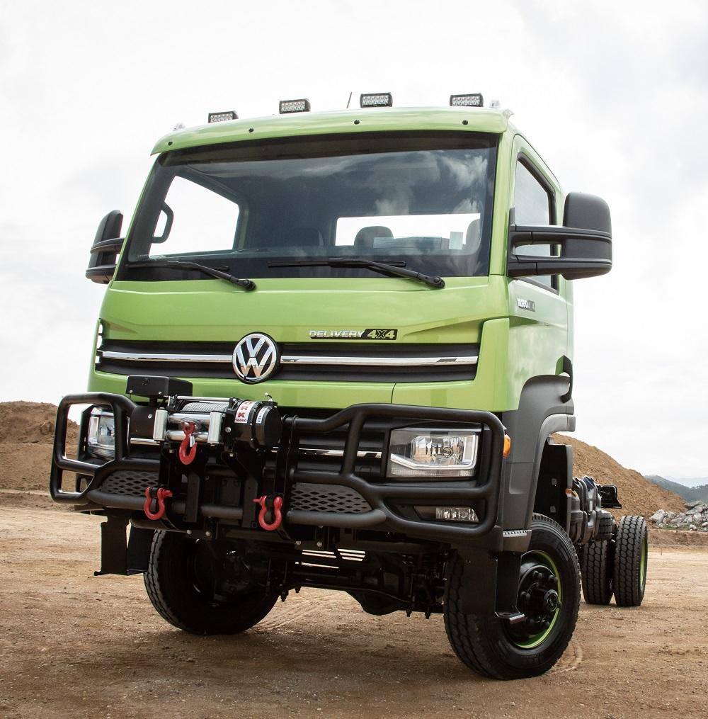 VW Caminhões e Ônibus lança caminhão Delivery 4×4 único no Brasil