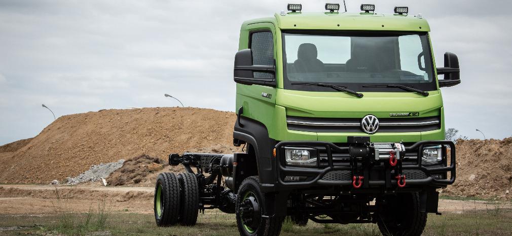Único caminhão leve com tração integral do país, Volkswagen Delivery 11.180 4×4 chega ao mercado