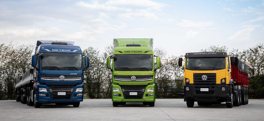 No novo, manual digital: caminhões e ônibus Volkswagen inovam com informações on-line