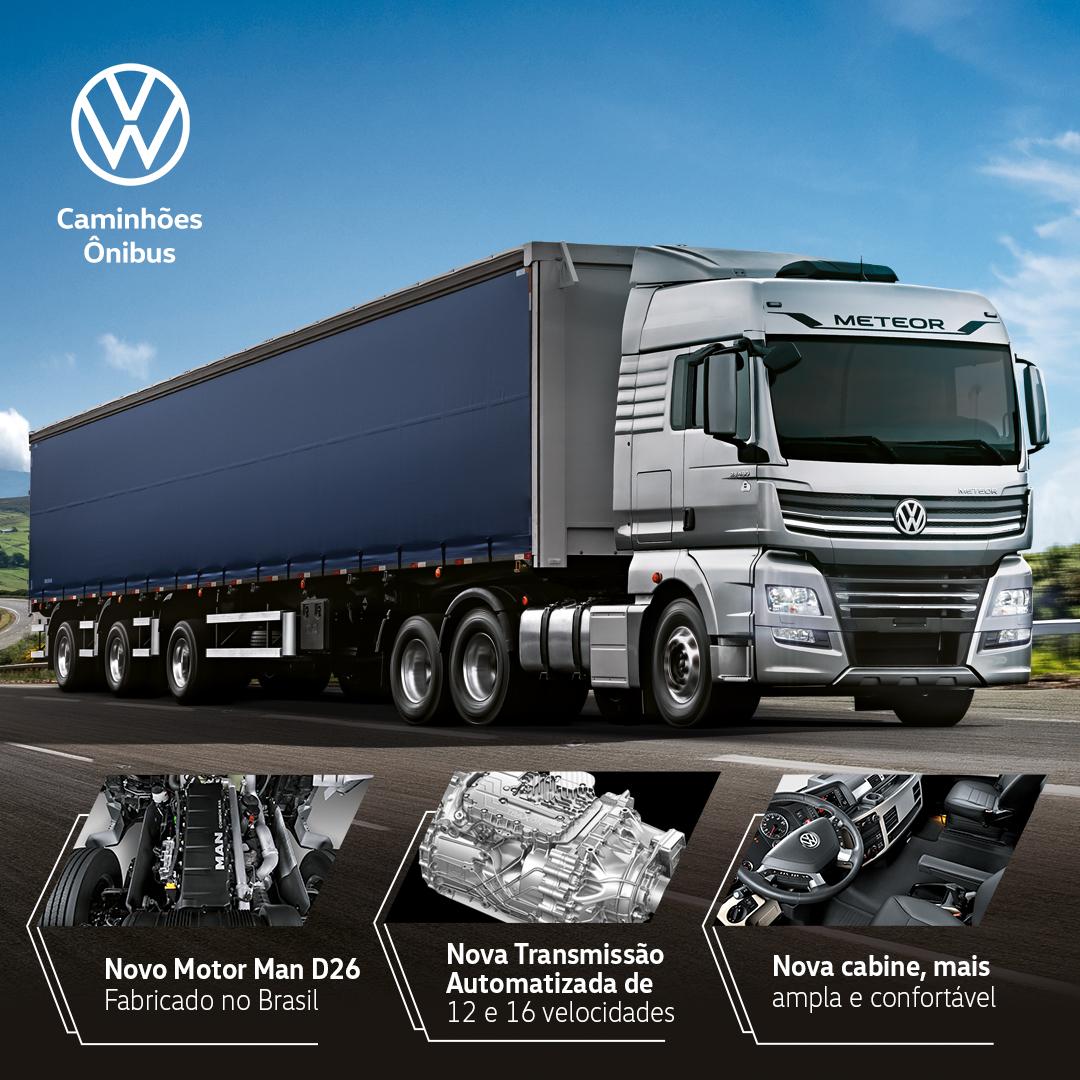 Chegaram os Novos Volkswagen Meteor