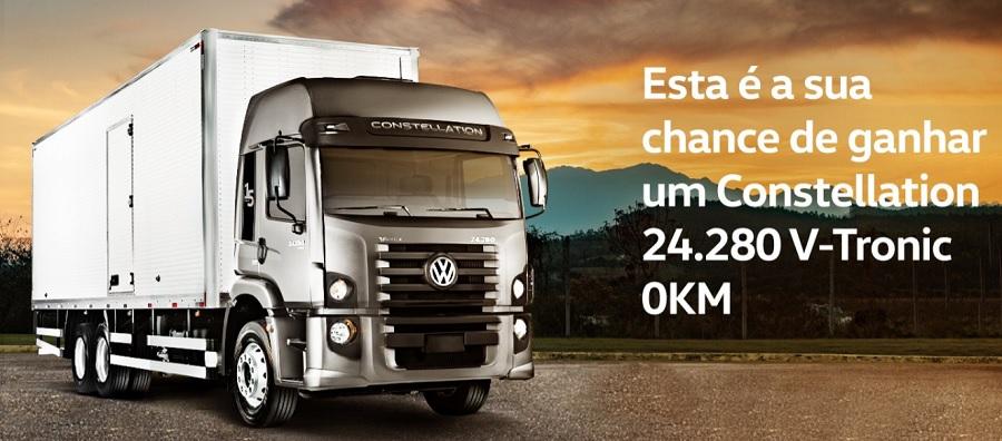 VWCO comemora 15 anos de vendas do Constellation e premiará com um caminhão